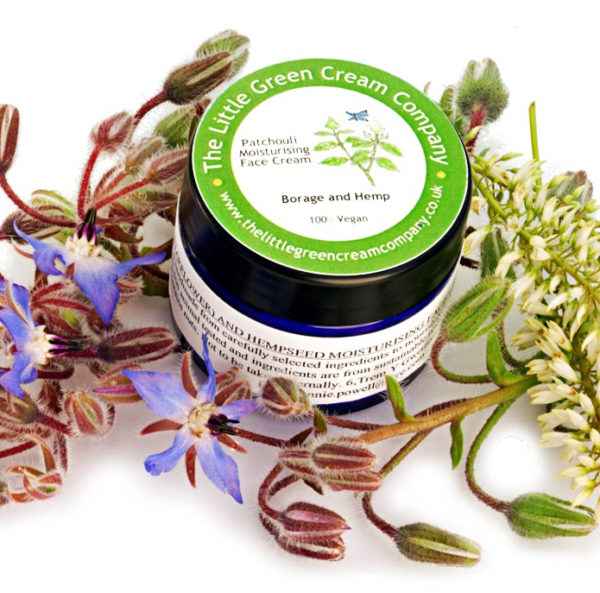 Patchouli Borage and Hemp Face Cream