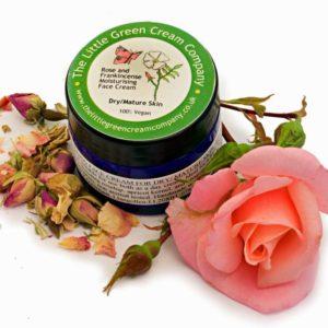 Rose and Frankincense Moisturising Cream Dry/Mature