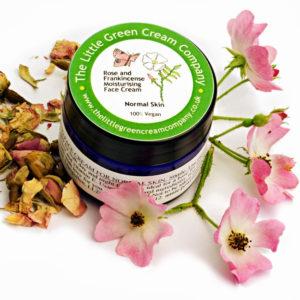 Rose and Frankincense Moisturising Face Cream